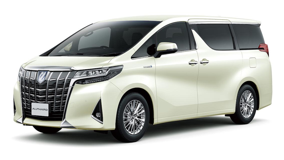 Toyota Alphard 7/8座